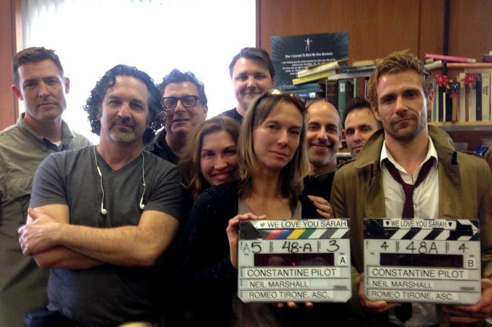 Constantine behind scenes