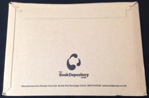 Book Depository包裝TPB,只有一個紙袋,仍然是沒有任何特別的處理。