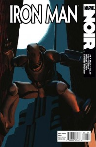 Iron Man Noir 1 with bugs