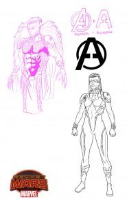 Avengers2099-Hawkeye-BlackWidow-4dd2e