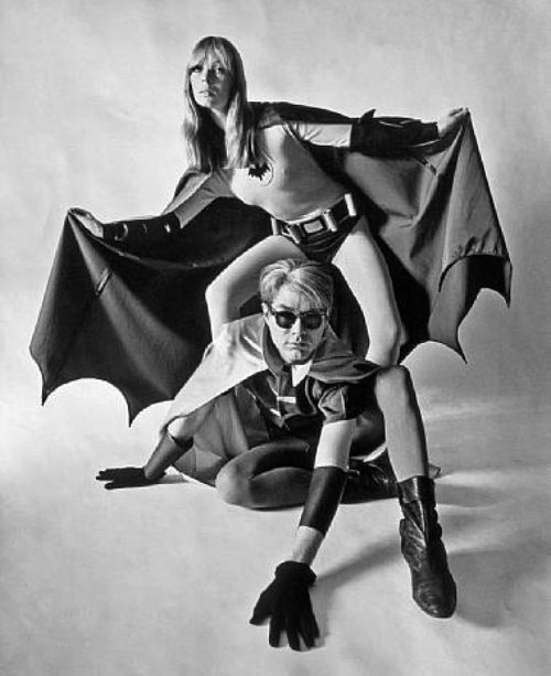 Nico-and-Andy-Warhol-as-Batman-and-Robin-for-Esquire-1967