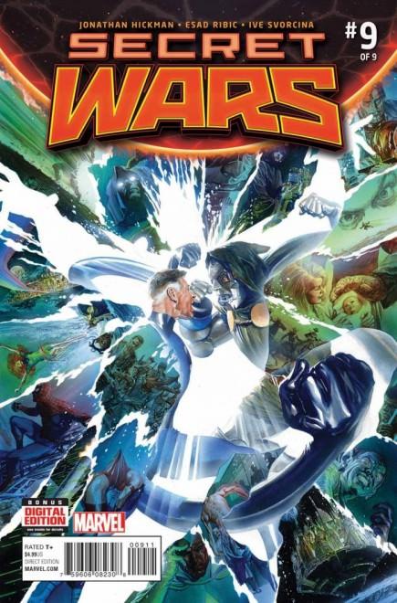 Secret Wars #9 Cover by Alex Ross