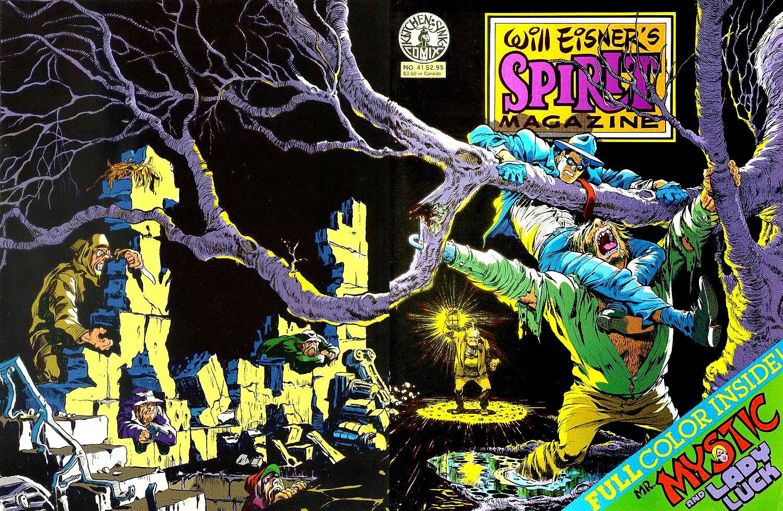 Will Eisner The Spirit magazine #41 cover