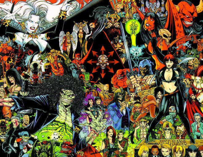 來自:http://vignette3.wikia.nocookie.net/comic-books-in-the-media/images/9/93/Chaos_comics_2.jpg/revision/latest?cb=20140129170523